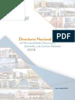 Directorio Municipalidades 2018