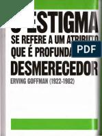 Goffman O Livro Da Sociologia