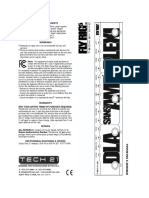 Tech21 FlyRig5 Manual