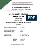2.Liquidacion Tecnica Botijilla - Chochope