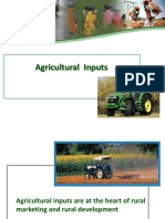 Agricultural Inputs in Rural Marketing India
