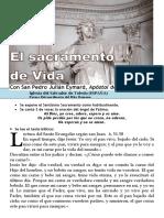 El Sacramento de Vida (58) HORA SANTA Con San Pedro Julián Eymard.