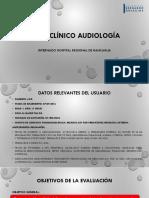 Caso Clínico Audiología Ppt