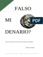 Es falso mi denario?
