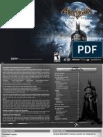 Batman Arkham Asylum PS3 Game Manual.pdf