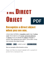 The Direct Object.docx