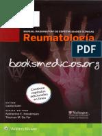 Manual Washington de Especialidades Clínicas. Reumatología_booksmedicos.org