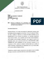 Carta Iván Duque a CSJ