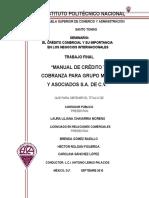 Manual Credito y Cobranza