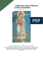 Canon de Rugaciune Catre Sfantul Mucenic Bonifatie