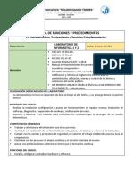 Manual de Funciones Laboratorio de Informática