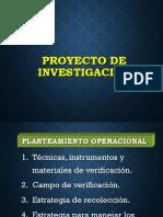 Formulación Del Proyecto de InvestigaciónII