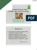 Materi 5 - DR. Dr. Naomi Esthernita Preterm Infant Feeding