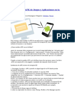 Cómo Instalar APK de Juegos y Aplicaciones en Tu Android