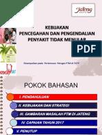 Kebijakan PTM Kab. Tegal 19 Maret 2018