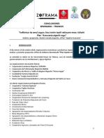 Conclusiones- Seminario Trawün - Plan Araucania 2018