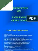 Tank Farm Operations