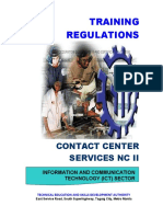 TR Contact Center Services NC II