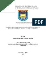 Proyecto - metodologìa