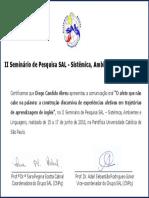 Certificado SAL Diego Abreu