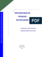 Apostila Metodologia Cientifica Educação Ee Nead 2018