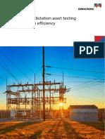 Optimized Substation Asset Testing Brochure ENU