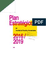 Plan Estratégico Facultad 2016-2019