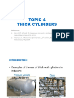4 Thick Cylinders