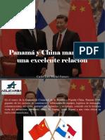 Carlos Luis Michel Fumero - Panamá y China Mantienen Una Excelente Relación