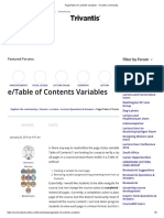 Page_Table of Contents Variables - Trivantis Community
