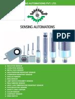 Sensing Automations Catalog