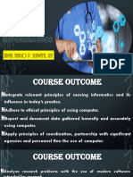 Nursing Informatics 2018 (Student Version)