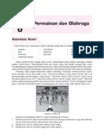 Penjasorkes SD-MI Kelas 6. Bab 6