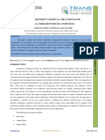 A STUDY ON DIFFERENT CHEMICAL TREATMENTS FOR NATURAL FIBER REINFORCED COMPOSITES