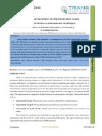 DESIGN AND DEVELOPMENT OF SPR INSTRUMENT BASED ON Ө-2Ө MECHANICAL INTEGRATION TECHNIQUE