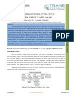 CONTACT STRESS ANALYSIS & OPTIMIZATION OF SPUR GEAR BY FINITE ELEMENT ANALYSIS