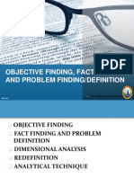 Chap 5 - Objective Finding