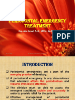 Periodontal Emergency Treatment Show