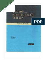 Delitos Contra La Administracion - Fidel Rojas