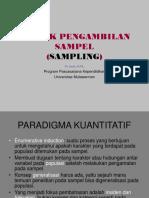 teknique Sampling