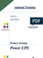 Hipulse UPS Training