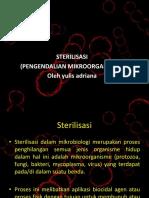 sterilisasi bahan kiliah
