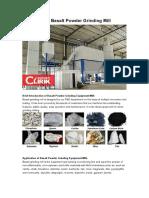 Clirik Basalt Powder Grinding Mill