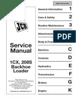 JCB 208S BACKHOE LOADER Service Repair Manual SN(751600 to 752999).pdf