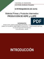 HDPE LLDPE Zavaleta y Yataco