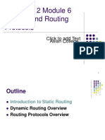 S2M06 Routing and Routing Protocols