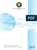 Desalination in the GCC-2014