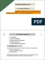 Guía Didactica ID 8325 Cámaras de Frío