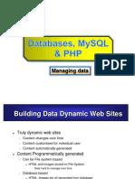 MySQL- PHP
