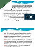 Perfil de Egreso Del Quimico Industrial